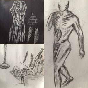 Life Drawing Sketches