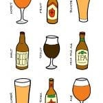 Beer illustrations