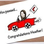 Driving test card - You passed!