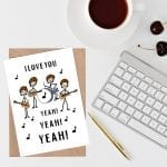 Music themed cards