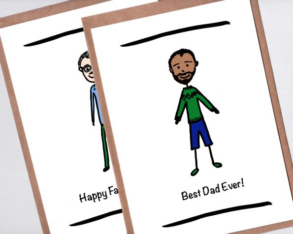 Custom Fathers Day Cards
