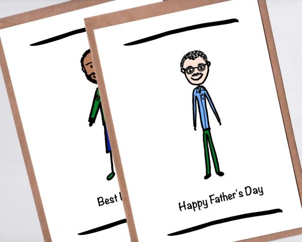Custom Fathers Day Card