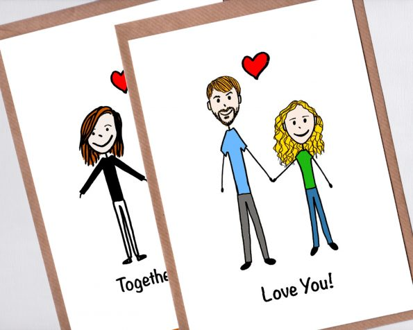Couple Portrait Card