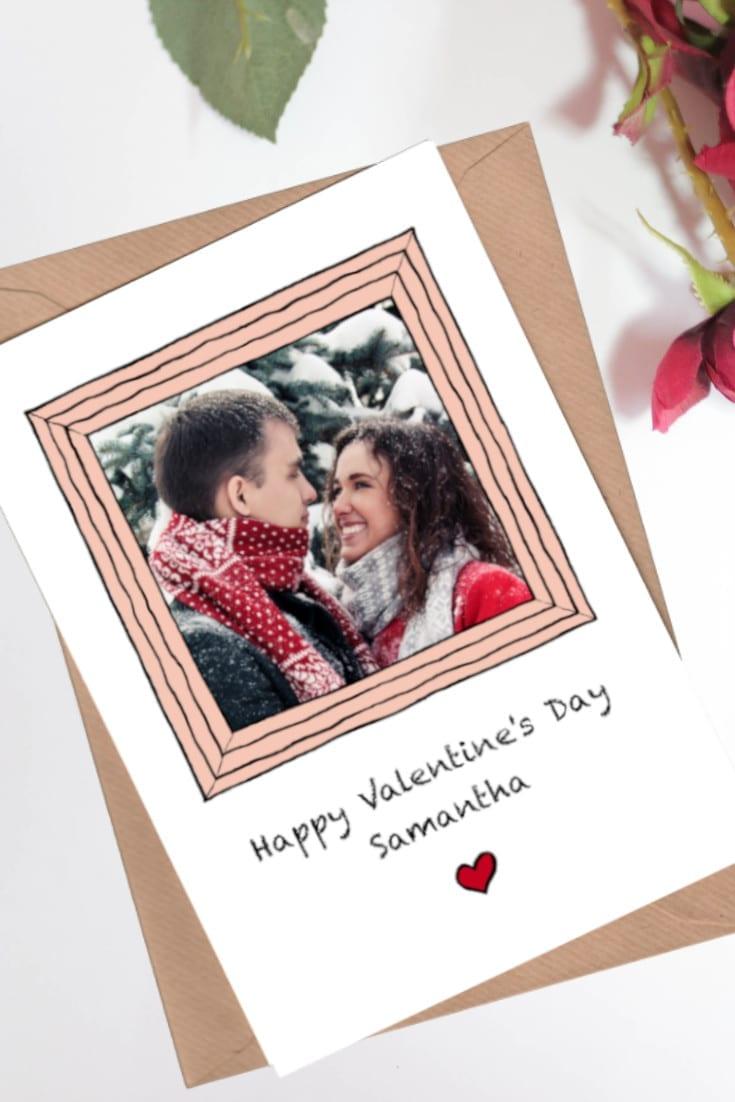 Custom Photo Valentine's Day Cards
