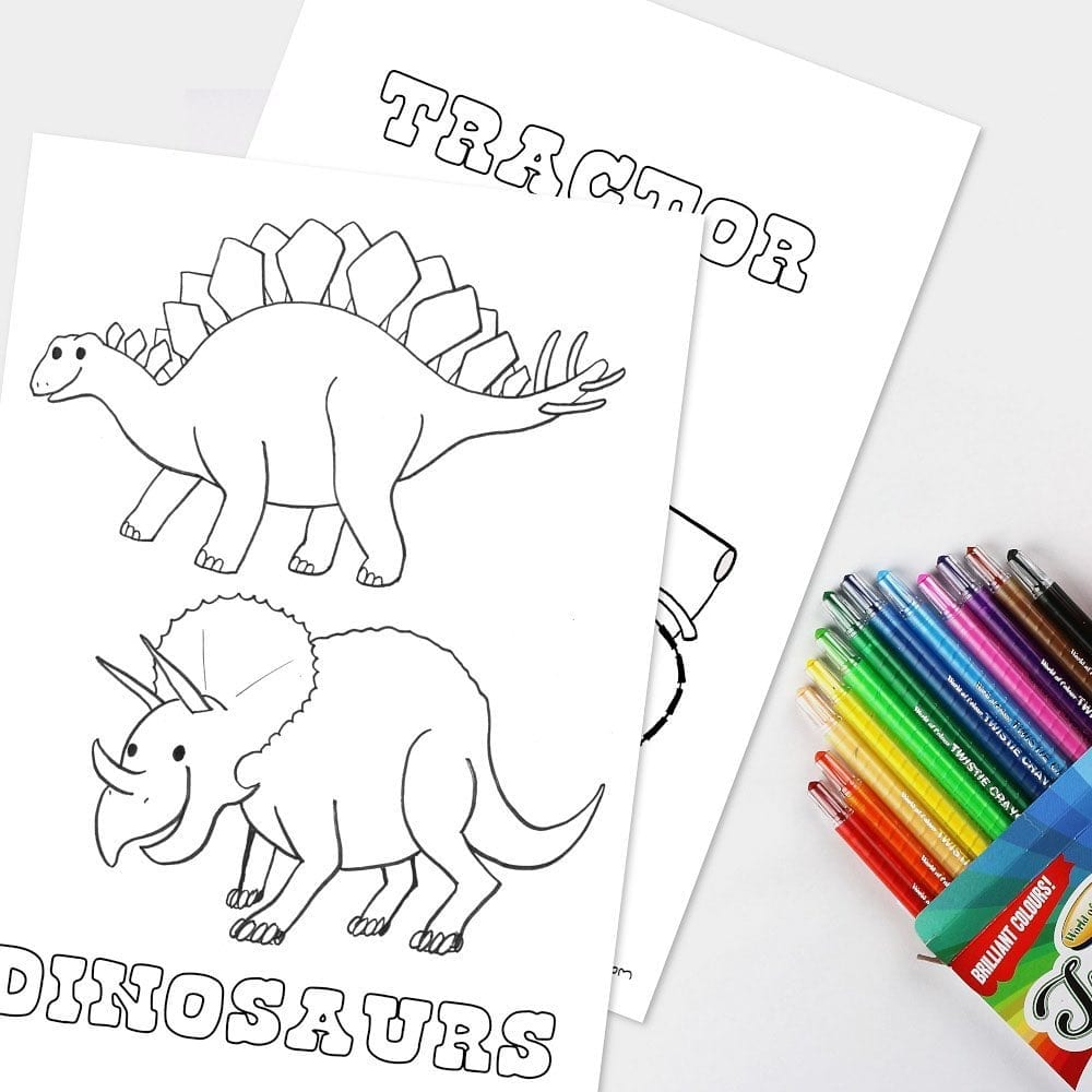 Free colouring in pages