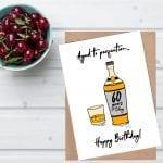 Choosing a 60th birthday wishes card