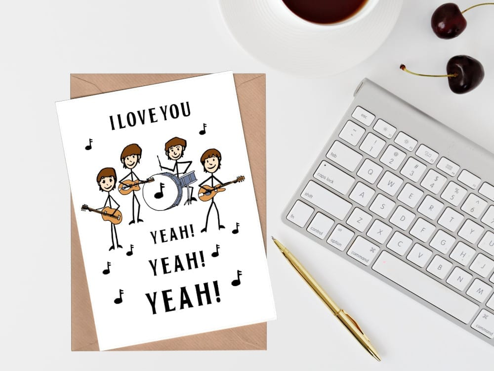 Music Themed Greeting Cards Online