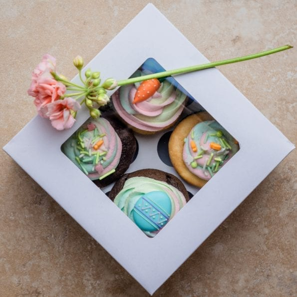 homemade cupcakes gift