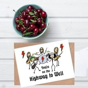 Highway to well card