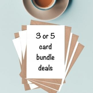 3 or 5 card bundle deals