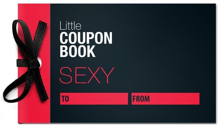 Valentine's Day Gift Ideas - Sexy little coupon book