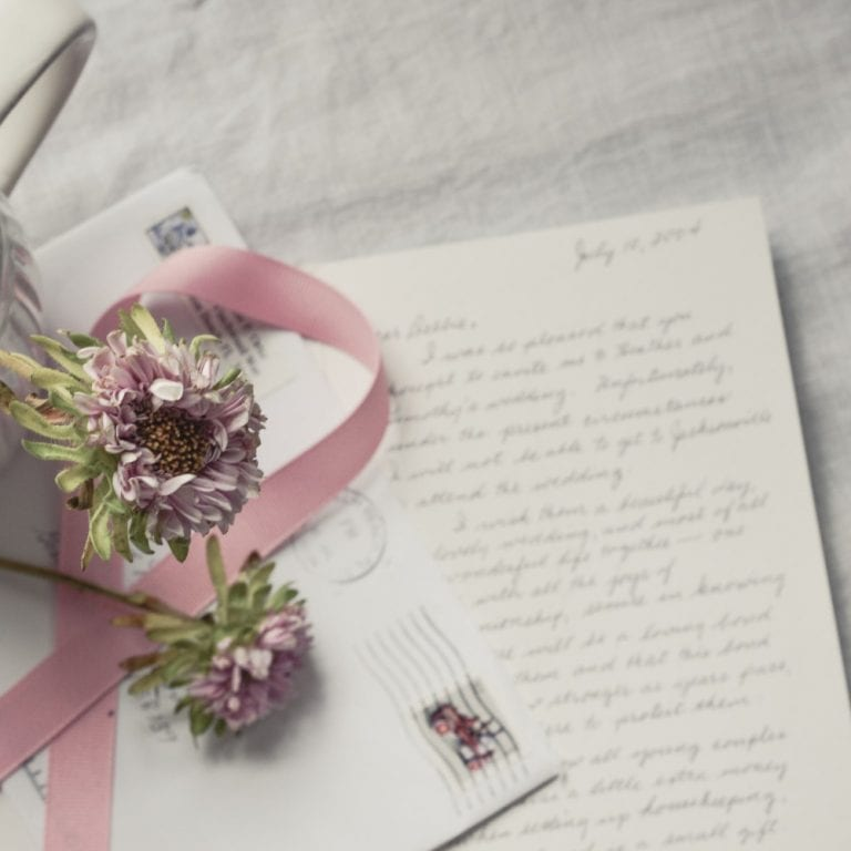 keepsakes - cards and letters