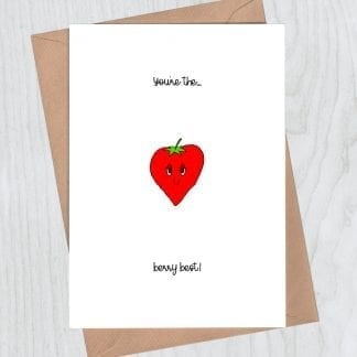 You're the berry best card
