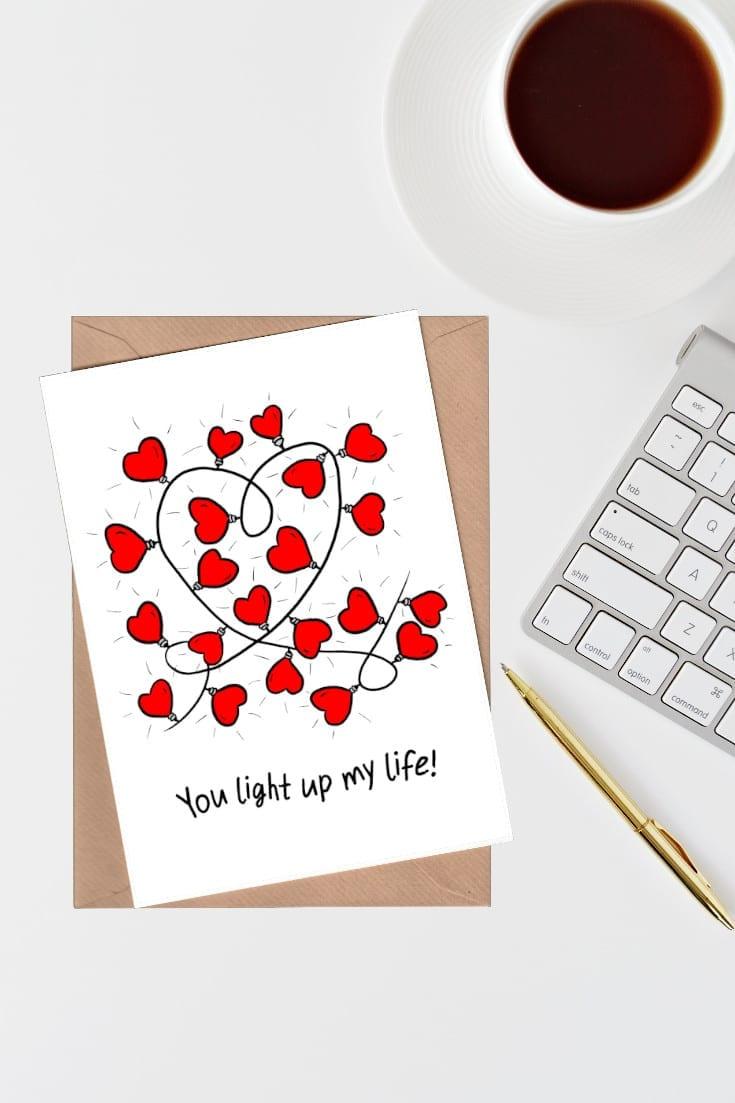 Light up my life hearts