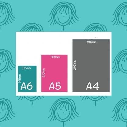 paper sizes A6 A5 A4