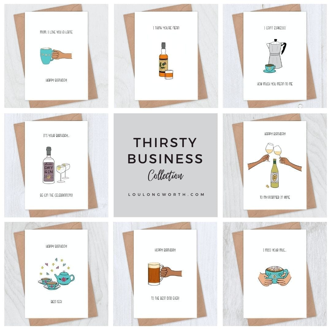 Thirsty Business Greeting Card Collection