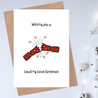 cracking good christmas card