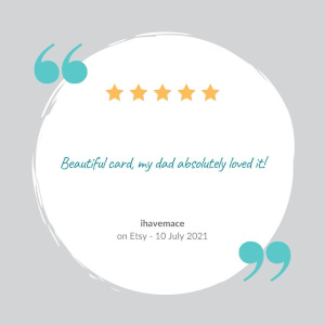 review that makes running a greeting card business worthwhile