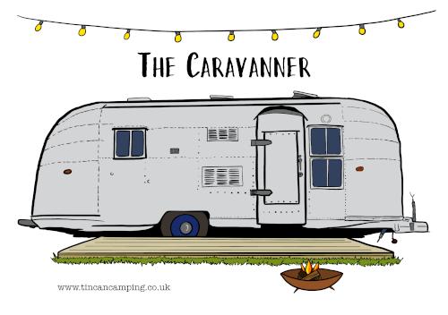 The Caravanner postcard
