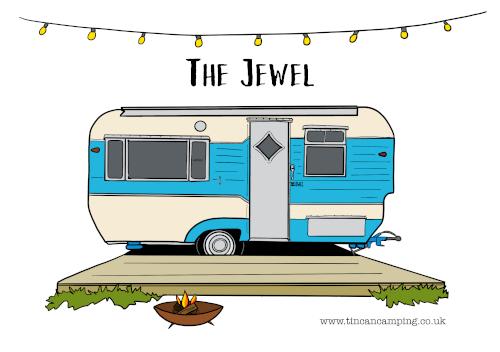 The Jewel custom postcards
