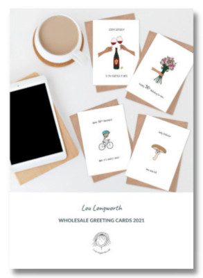Lou Longworth Greeting Cards Wholesale Catalogue